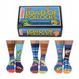 Oddsocks Load of Pollocks 6 odd socks (not pairs) for men